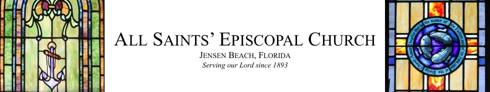 All Saints Episcopal Church, Jensen Beach, Florida